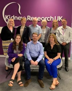 Kidney Research UK and PKD Charity partnership group