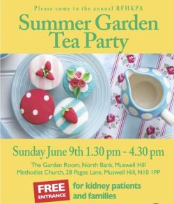 RFHKPA Summer Garden Party Flyer