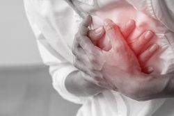 Image depicting heart pain